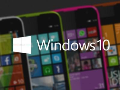 Microsoft Windows 10 TP для смартфонов: первые скриншоты