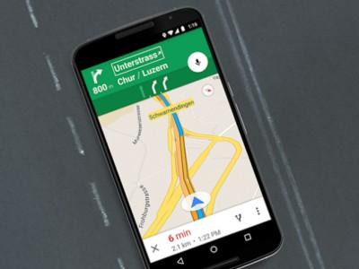 Новая версия Google Maps приносит улучшенную навигацию в европейских странах