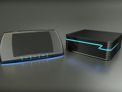 ZRRO - игровая консоль для Android с сенсорным контроллером
