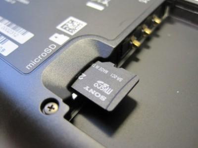 Sony выпустит специальную microSD-карту для меломанов
