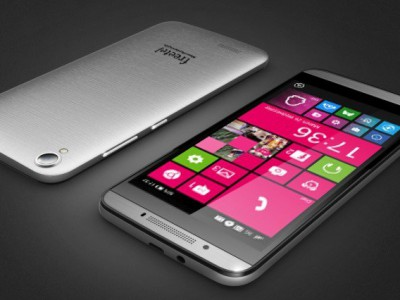 Freetel готовится выпустить безрамочный смартфон на Windows 10