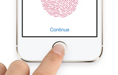 Apple интегрирует сканер отпечатков пальцев в экран iPhone и iPad