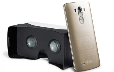LG разрабатывает VR-гарнитуру для G3