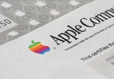 Акции Apple начали торговаться в составе индекса Dow Jones