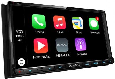 Kenwood начала продажи собственных мультимедийных систем с поддержкой Apple CarPlay